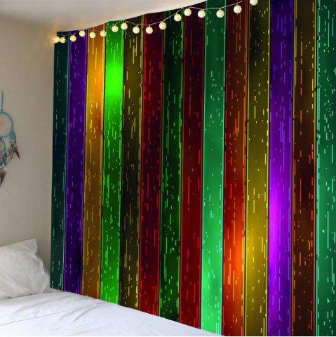 Best Wall Art Rainbow Wood Printed Celebration Background Hanging Tapestry