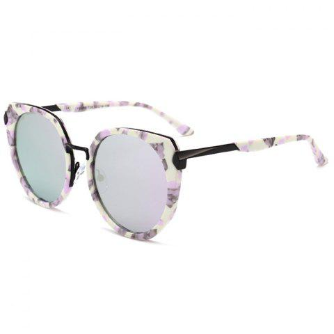 Outfit Vintage Metal Full Frame Nose Pad Sunglasses