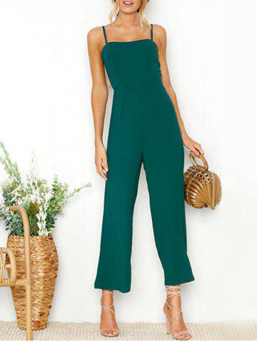 New Spaghetti Strap Wide Leg Jumpsuit