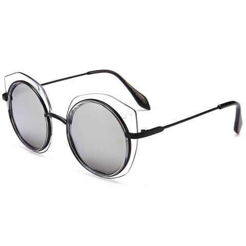 Sale Vintage Metal Full Frame Round Sunglasses