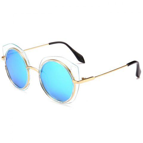 Chic Vintage Metal Full Frame Round Sunglasses