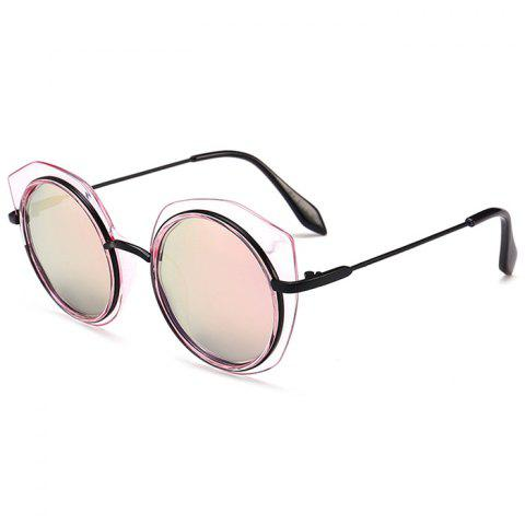 Discount Vintage Metal Full Frame Round Sunglasses