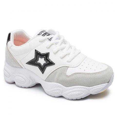 Discount Casual Running Star Patched Sneakers