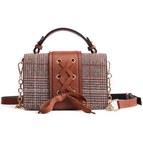 Shops String Criss Cross Crossbody Bag