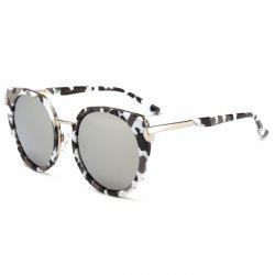 Vintage Metal Full Frame Nose Pad Sunglasses -