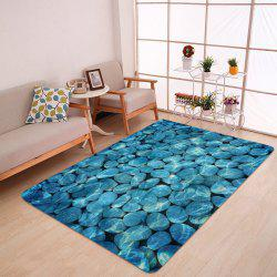 Pebbles In The Water Pattern Anti-skid Water Absorption Area Rug -