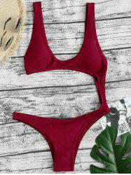 Monokini Backless Thong One-piece Swimsuit -