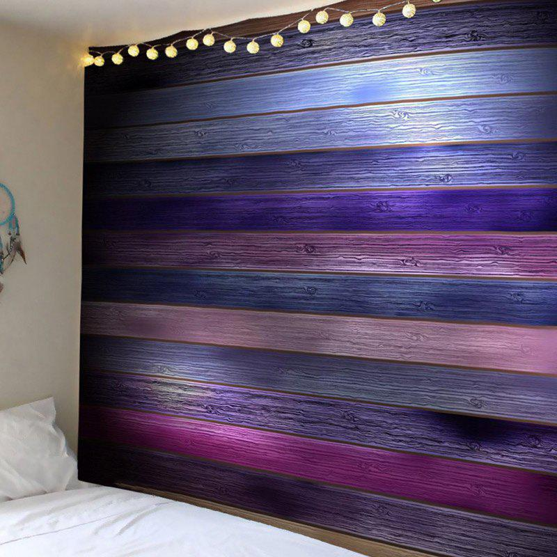 Sale Coloured Plank Printed Wall Tapestry