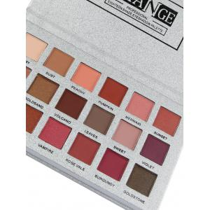 Professional 18 Colors Natural Colors Long Lasting Eyeshadow Palette -