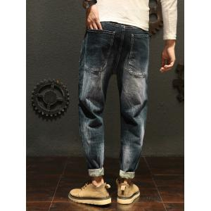 Casual Faded Slim Fit Jeans -