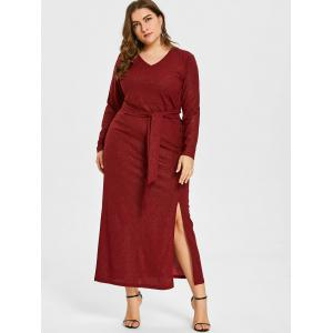 Plus size red cocktail dress size 18