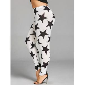 Плюс Размер Allover Star Leggings -