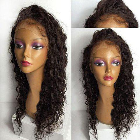 Unique Long Free Part Water Wave Synthetic Lace Front Wig