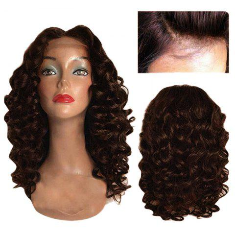 Buy Long Center Parting Body Wave Synthetic Lace Front Wig