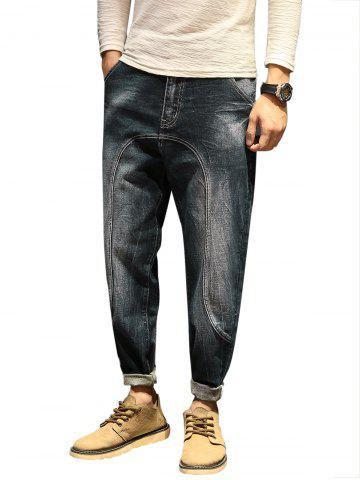 Fashion Casual Faded Slim Fit Jeans
