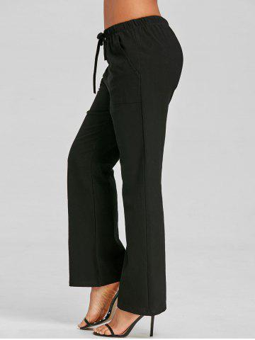 Unique Drawstring Casual Pants