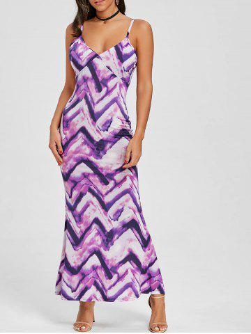 Hot Cami Tie Dye Maxi Beach Dress
