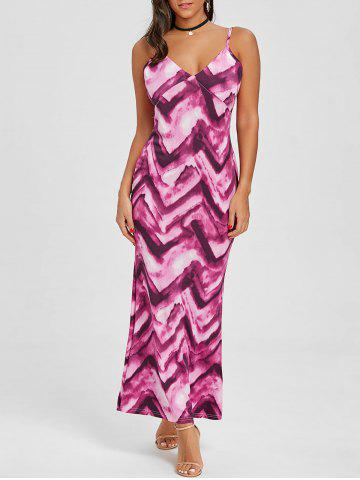 Fancy Cami Tie Dye Maxi Beach Dress
