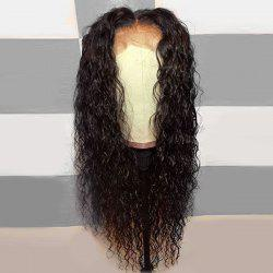 Long Middle Part Shaggy Curly Lace Front Synthetic Wig -
