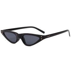 Unique Full Frame Embellished Street Snap Sunglasses -