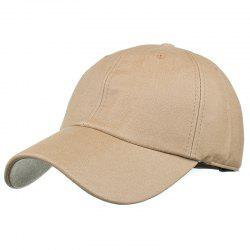 Simple Line Embroidery Magic Sticker Baseball Hat -