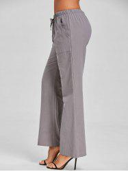 Drawstring Casual Pants -