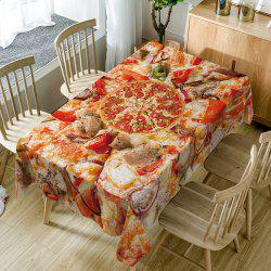 Nappe de Table Imperméable à Imprimé Pizza -