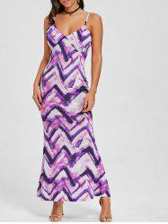 Cami Tie Dye Maxi Beach Dress -