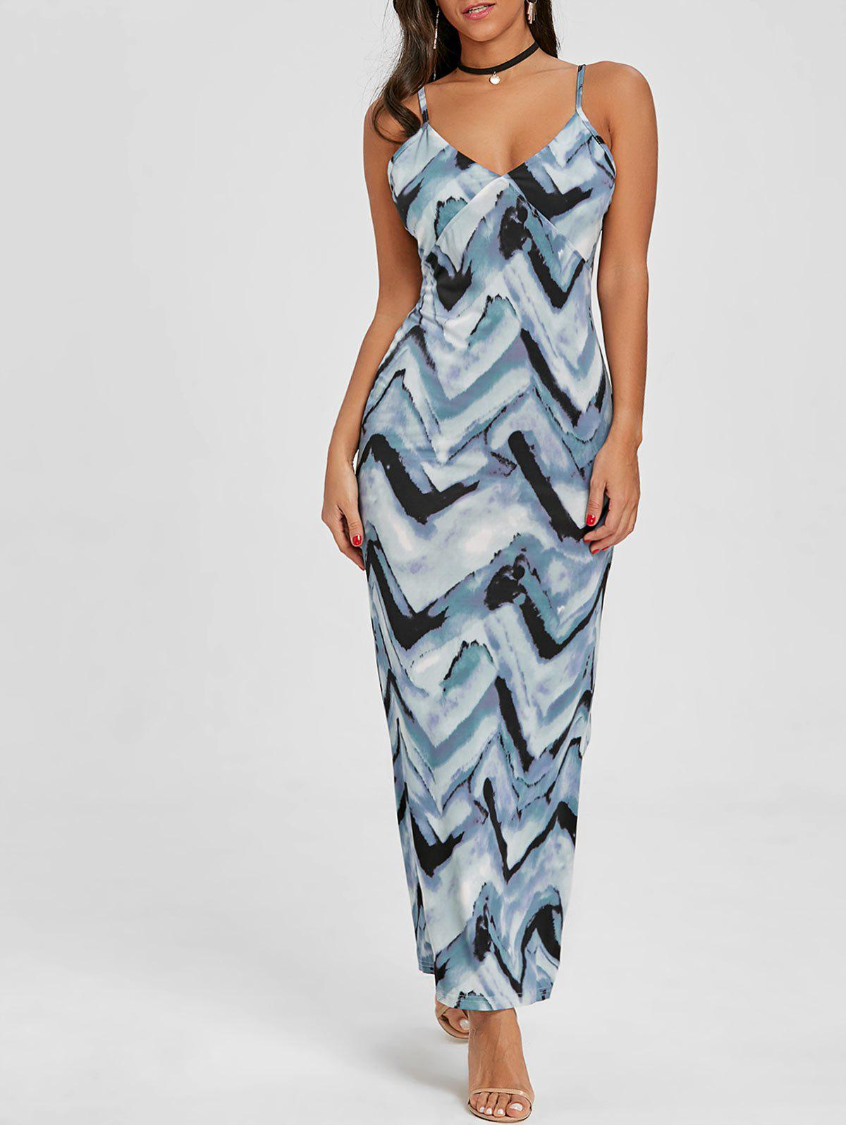 Store Cami Tie Dye Maxi Beach Dress
