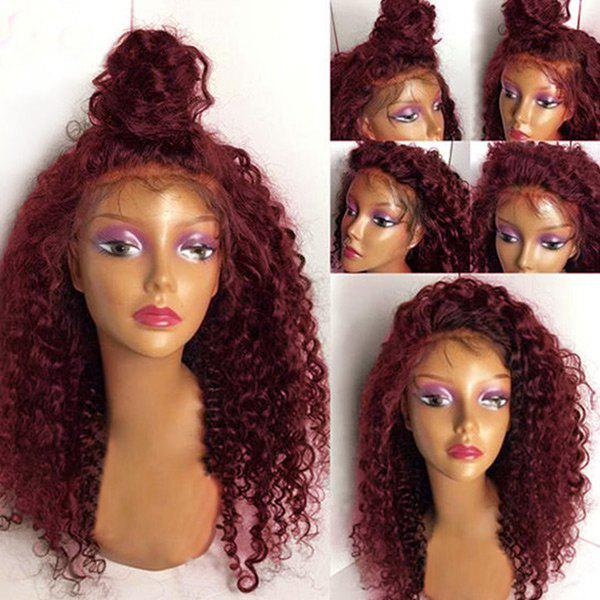 Latest Long Free Part Fluffy Deep Wave Lace Front Synthetic Wig