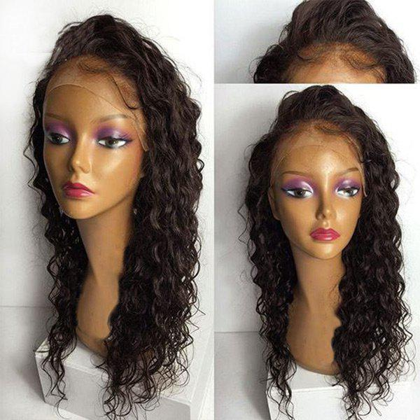 Affordable Long Free Part Water Wave Synthetic Lace Front Wig