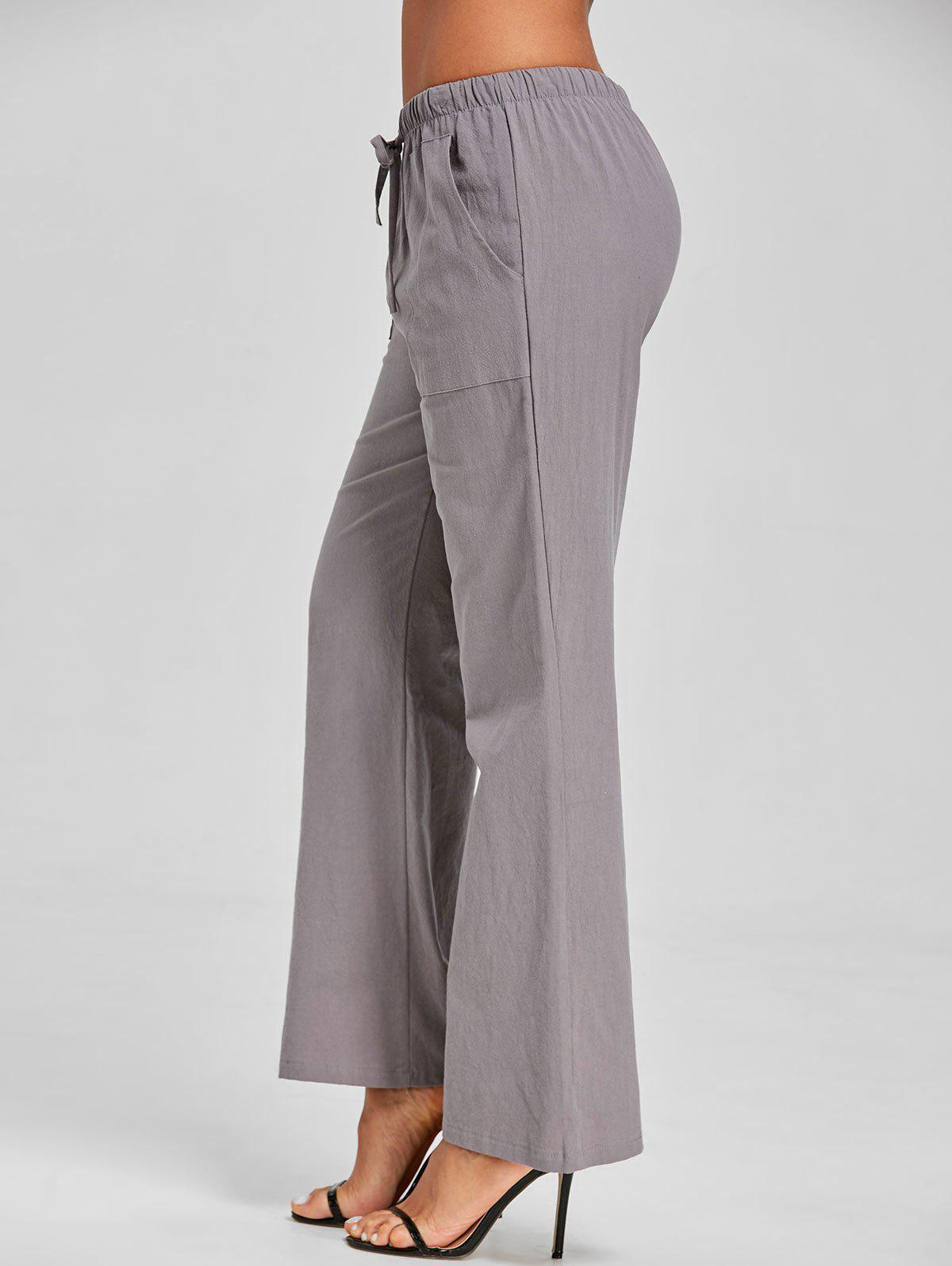 Sale Drawstring Casual Pants