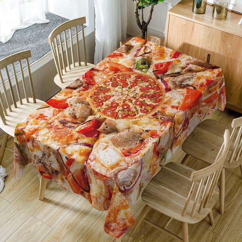Nappe de Table Imperméable à Imprimé Pizza