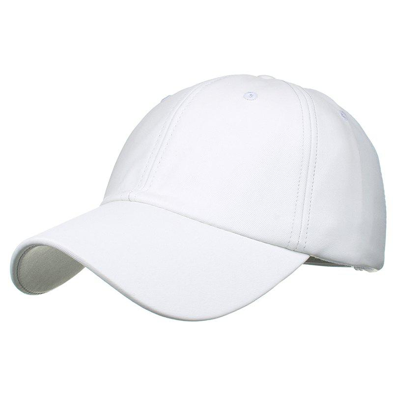 Chic Simple Line Embroidery Magic Sticker Baseball Hat