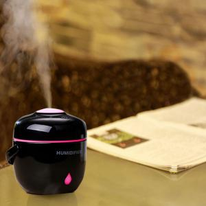 Mini Rice Cooker Shaped Color Change USB Charging Mist Humidifier -