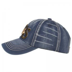 Letter Embroidery Adjustable Baseball Cap -
