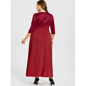 Robe taille empire grande taille -