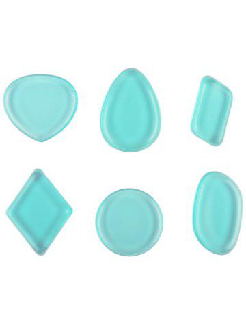 New MAANGE 6PCS Silicone Makeup Sponges