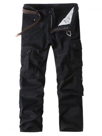 Пуговицы для кармана Zip Fly Straight Cargo Pants