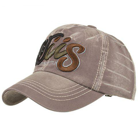 Shop Letter Embroidery Adjustable Baseball Cap