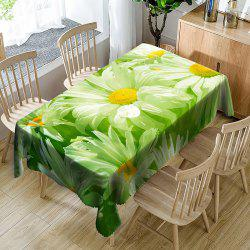 Chrysanthemum Flower Pattern Decoration Table Cloth -