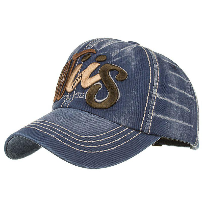 Online Letter Embroidery Adjustable Baseball Cap