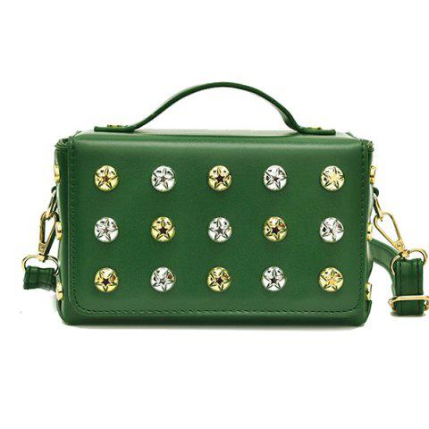 Outfit Box Studded Crossbody Bag