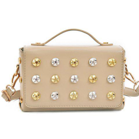 Buy Box Studded Crossbody Bag
