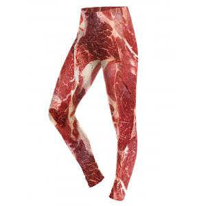 Fitted Raw Meat Leggings -