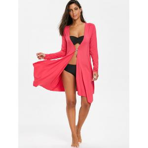 Beach Long Sleeves Cardigan Cover Up -