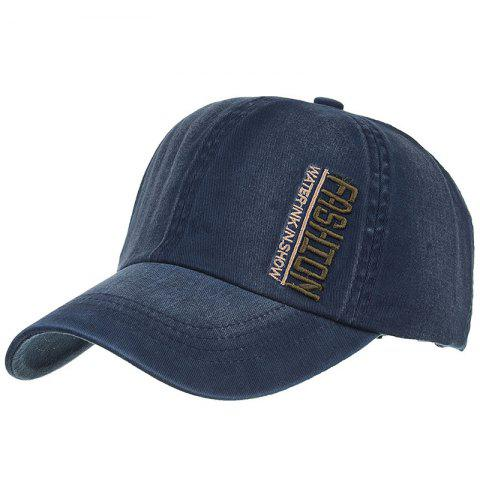 Trendy FASHION Embroidery Adjustable Baseball Cap
