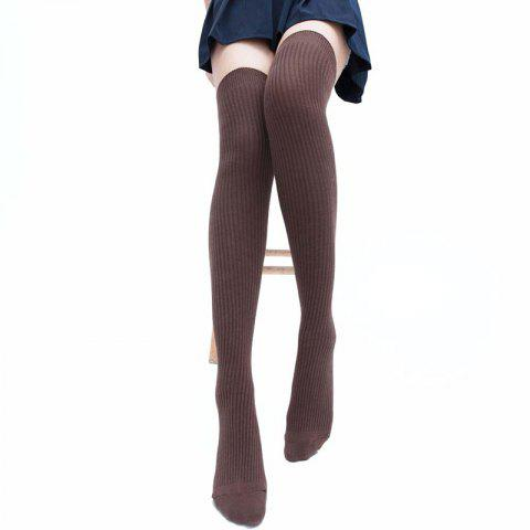 Hot Simple Striped Pattern Knee High Socks
