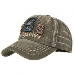 Unique Solidarity Embroidery Adjustable Baseball Cap -