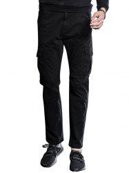 Slim Fit Multi Pockets Cargo Pants -